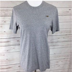 ❤️ New Balance Gray Workout Top Short Sleeve Tee